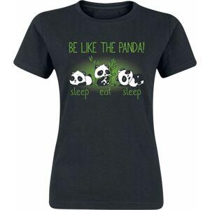 Be Like The Panda! Dámské tričko černá