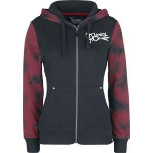 My Chemical Romance EMP Signature Collection dívcí mikina s kapucí a zipem cerná/cervená