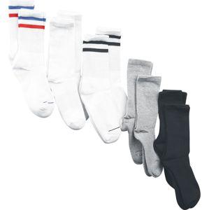 Urban Classics Balení 10 párů sportovních ponožek Ponožky černá / bílá / šedá