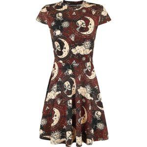 Jawbreaker Krasobruslářské šaty Moonstone šaty cerná/cervená