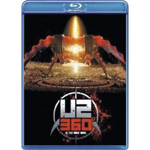 U2 U2360 at the Rose Bowl Blu-Ray Disc standard