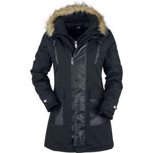 Black Premium by EMP So Damn Obvious Dívcí kabát černá
