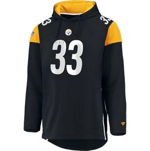 NFL Pittsburgh Steelers mikina s kapucí černá