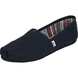 TOMS Alpargata Espadrille plátené boty černá