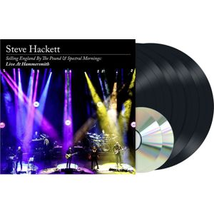 Steve Hackett Selling England By The Pound & Spectral Mornings: Live At Hammersmith 4-LP & 2-CD standard
