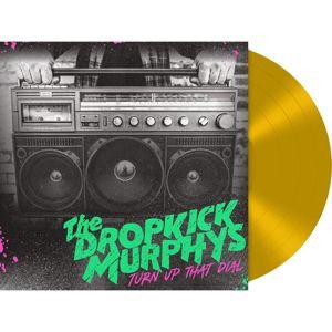 Dropkick Murphys Turn up the dial LP zlatá