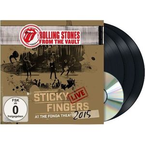 The Rolling Stones From the vault: Sticky fingers Live 2015 DVD & 3-LP standard