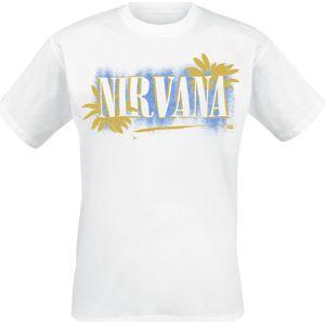 Nirvana All Apologies tricko bílá