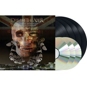 Dream Theater Distant memories - Live in London 4-LP & 3-CD standard