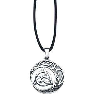 etNox magic and mystic Keltský uzel Náhrdelník - řetízek stríbrná