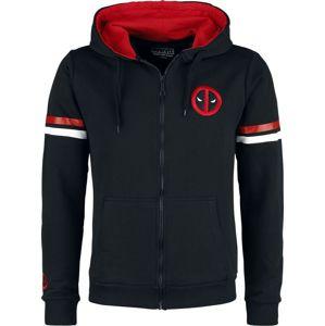 Deadpool Department K mikina s kapucí na zip černá