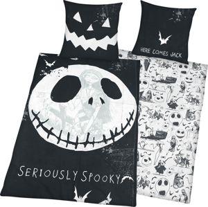 The Nightmare Before Christmas Seriously Spooky Ložní prádlo cerná/bílá