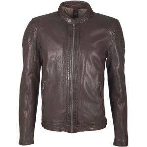 Gipsy Garren LVTW kožená bunda tmavě hnedá