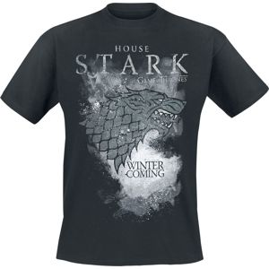 Game Of Thrones House Stark - Winter Is Coming tricko černá