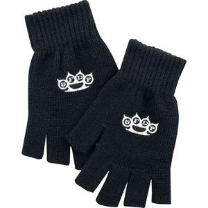 Five Finger Death Punch 5FDP rukavice bez prstů černá