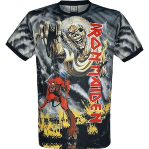 Iron Maiden Amplified Collection - Number Of The Beast tricko černá