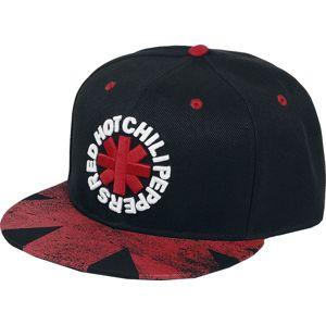 Red Hot Chili Peppers Asterisk Logo - Snapback Cap kšiltovka černá