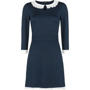 Winnie The Pooh Leaves šaty námořnická modrá