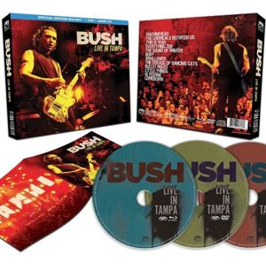 Bush Live in Tampa Blu-ray & DVD & CD standard