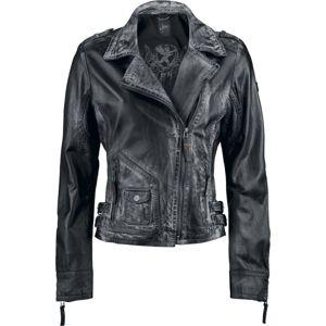 Gipsy Paris Laret dívcí kožená bunda černá