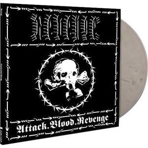 Revenge Attack.Blood.Revenge LP mramorovaná
