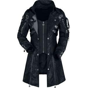 Gothicana by EMP Asherali Dívcí kabát černá