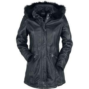 Dívcí kožený kabát