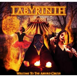 Labyrinth Welcome to the Absurd Circus CD standard