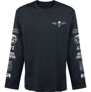 Avenged Sevenfold Logo tricko s dlouhým rukávem černá