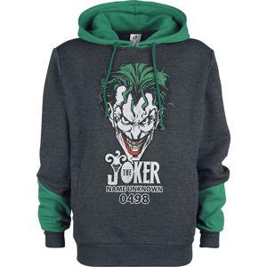 Batman The Joker mikina s kapucí prošedivelá