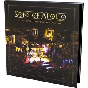 Sons Of Apollo Live with the Plovdiv Psychotic Symphony 3-CD & DVD & Blu-ray standard