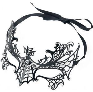 Metallmaske maska černá