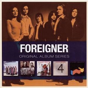 Foreigner Original album series 5-CD standard