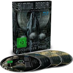 Dimmu Borgir Forces of the northern night 2-Blu-ray & 2-CD standard