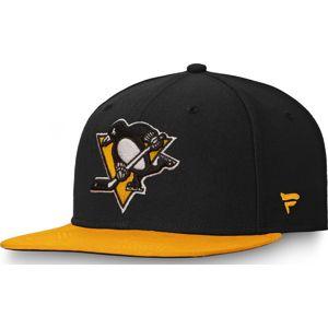 NHL Pittsburgh Penguins - Iconic Defender Snapback Cap kšiltovka cerná/žlutá