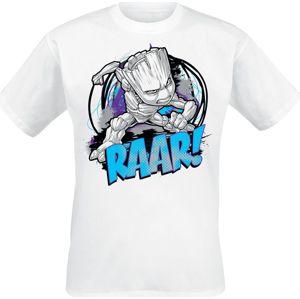 Strážci galaxie Groot - Raar! tricko bílá