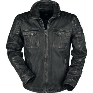 Gipsy Randall NSLROV kožená bunda černá