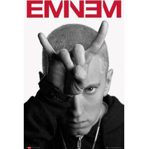 Eminem Horns plakát vícebarevný