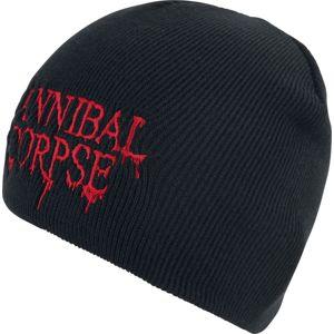 Cannibal Corpse Logo Beanie čepice černá
