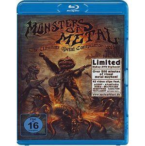 V.A. Monsters Of Metal Vol. IX Blu-ray & DVD standard