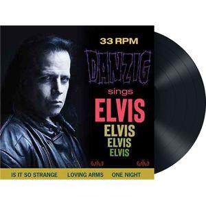 Danzig Sings Elvis LP standard