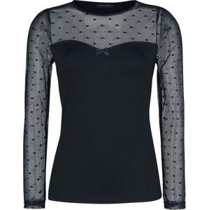 Vive Maria Tričko s dlouhými rukávy French Chic dívcí triko s dlouhými rukávy černá