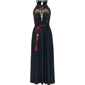 Harry Potter Phoenix šaty cerná/bordová