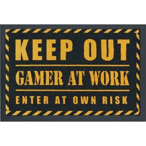 Gamer At Work Rohožka černá