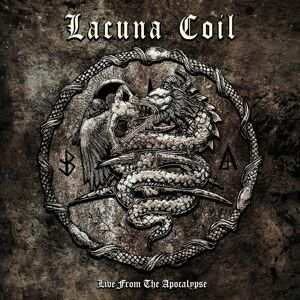 Lacuna Coil Live from the apocalypse CD & DVD standard