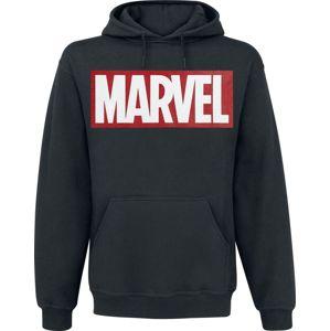 Marvel Logo mikina s kapucí černá