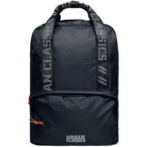 Urban Classics Recycled Ribstop Backpack Batoh černá