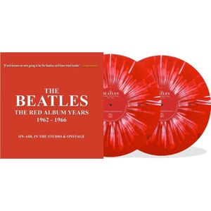 The Beatles The red album years - On-Air, in the studio & Onstage 2 x 10 inch-MAXI potřísněné