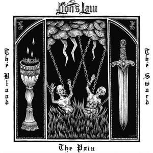 Lion's Law The pain, the blood and the sword CD standard
