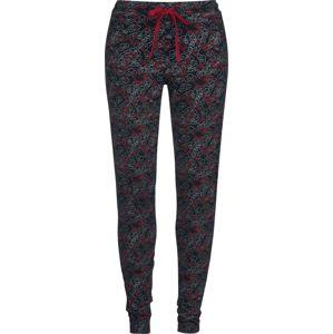 Mulan Dragon Pyžamové nohavice cerná/cervená